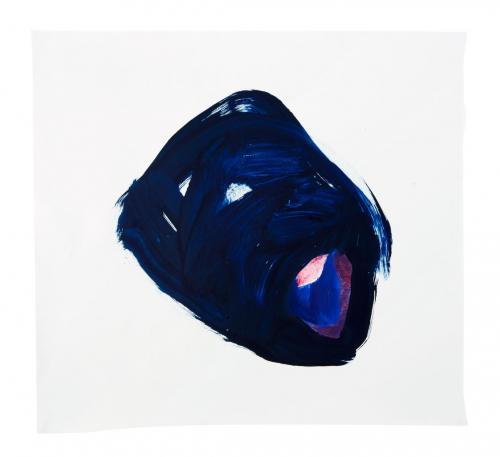 Símbolo, 2009, Óleo s/papel 67 x 71 cm