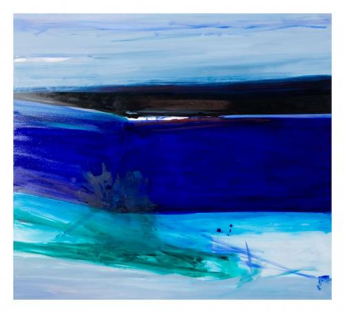 Sentido(s), 2009, Óleo s/tela, 140 x 155 cm
