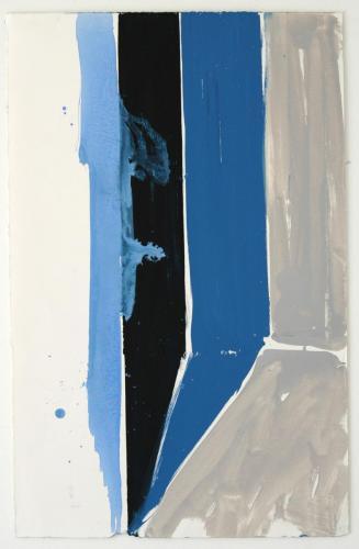 Interior IV, 2011, Óleo s/papel, 73 x 48 cm