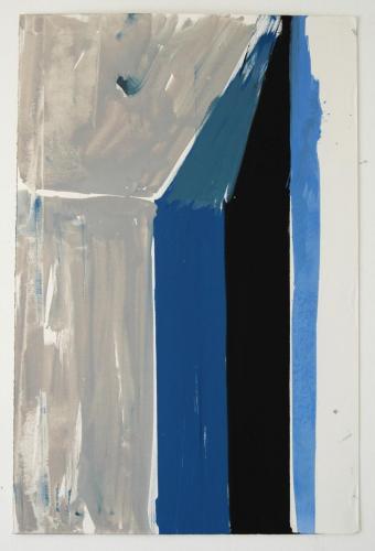 Interior V, 2011, Óleo s/papel, 73 x 48 cm