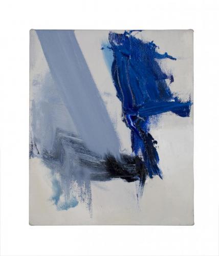 Revérbero , 2007, madeira, espelho, spray e óleo sobre papel, 36 x 30 cm